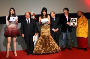 IMG_5960 Premiazione -Columbro e Lama Gangchen