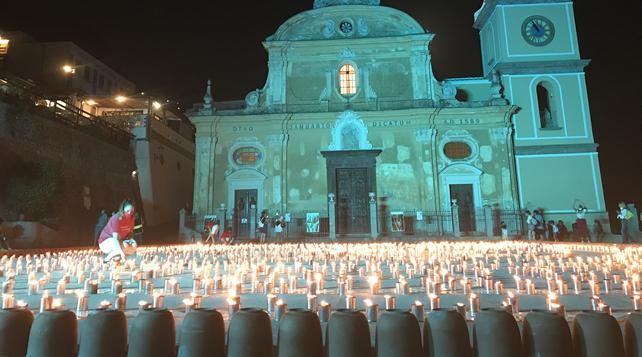 Luminaria di San Domenico: Praiano rinasce con i suoi giovani
