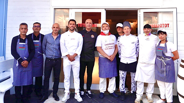 Pizza & Cucina: da Totò Sapore Group Miseno turisti a scuola e a tavola