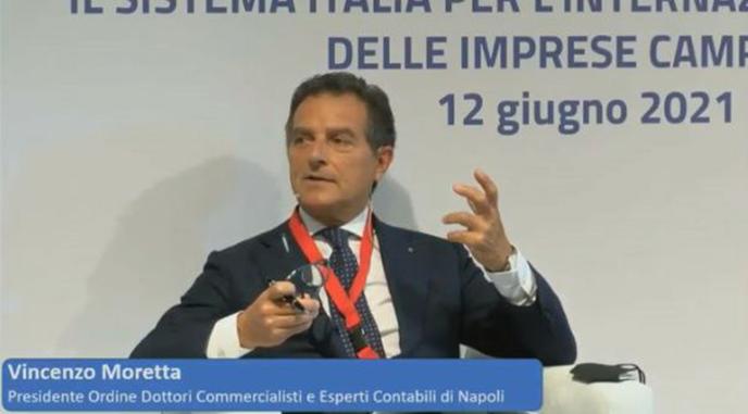 """Moretta: """"Commercialisti pronti al rilancio del brand Italia all'estero"""""""